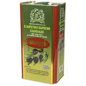 Eleourgos, olivolja extra jungfru 5L, FRAKTFRITT!