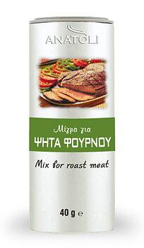 Anatoli, mix for grillat kött pulver 40g,