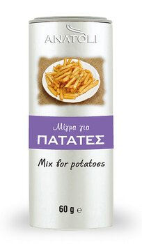 Anatoli, mix for potatis pulver 60g, metall