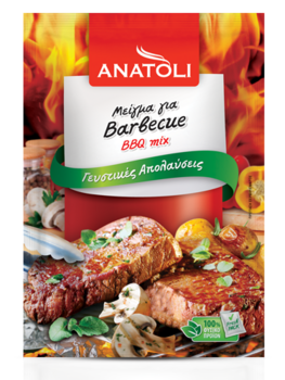 Anatoli, mix for barberque pulver 25g påse
