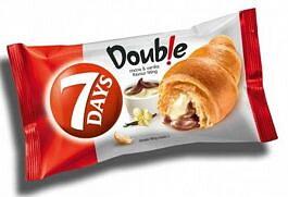 7days, croissant, double kräm kakao & vanilj 85g