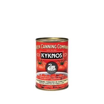krossade tomater Kyknos, 400g