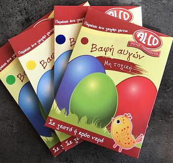 Färg till ägg, paket 4st.