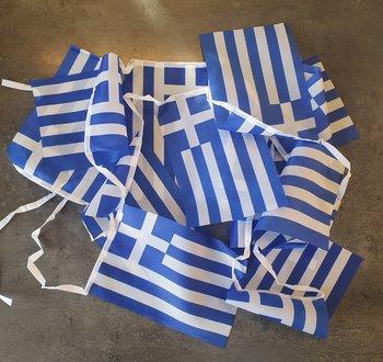 Grekisk flagga, Girland, 3m