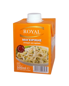 ROYAL COOKING 500 ml 23% örtfett