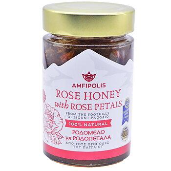 amfipolis, ros honung med Rosblad 250g