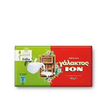 ion mjölk choklad med stevia 60g