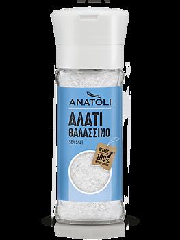 Anatoli, Havssalt grov, kvarn, 90g