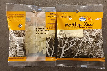 Greek Natural Chios Mastic Mastiha Medium Tears 10g P.D.O.
