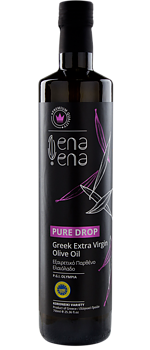 Extra Virgin Olive Oil Pure Drop 500ml PGI, Olympia, ENA ENA