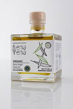 Extra Virgin Olive Oil Organic 100ml, PGI OLYMPIA
