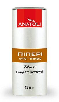 Anatoli, svartpeppar malen 45g,