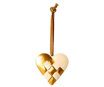 Maileg - Metallhjärta, Guld