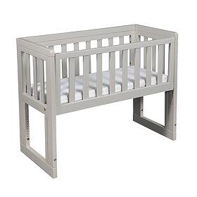 Troll Bedside Crib oslo, Soft grey