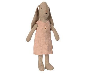 Maileg - Bunny size 1 rosa klänning