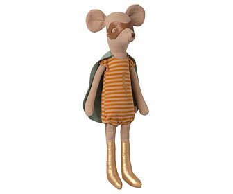 Maileg - Super hero mouse, Medium girl