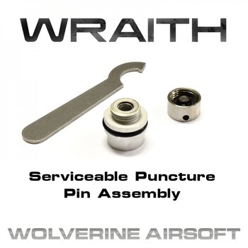 WRAITH Serviceable Puncture Pin Assembly