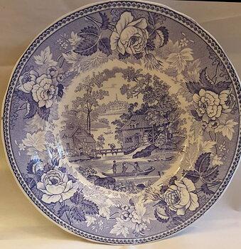 Malmo soup bowl violet