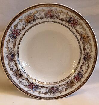 Iris soup bowl