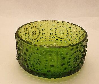 Riihimäki Grapponia dessertskål grön
