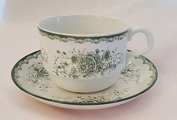 Gron Anna tea cup with saucer