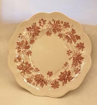 Vinranka red cake plate