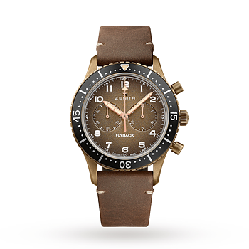 Zenith Pilot Chronometro Tipo CP-2 Flyback Chronograph - BEGAGNAD (9/10)