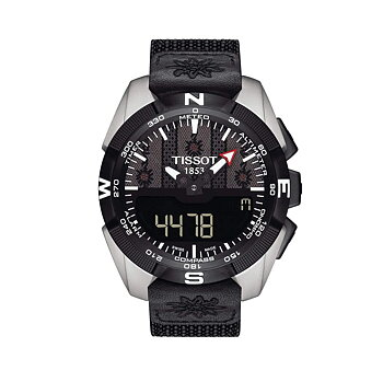 Tissot T-Touch Perpetual Alarm World Time Chrono T091.420.46.051.02