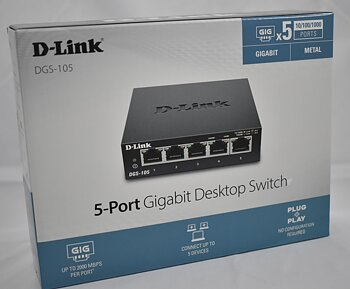 D-link 5port gigabit switch