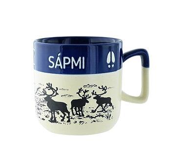 Mugg Sápmi blå/beige
