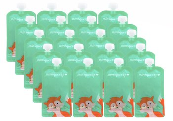 20-pack Minsqueeze Fox klämpåse 220 ml