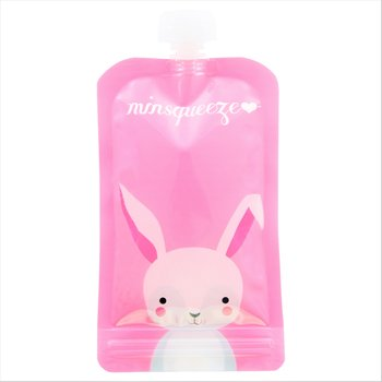 1-pack Minsqueeze Rabbit klämpåse 220 ml