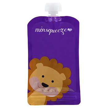 1-pack Minsqueeze Lion klämpåse 220 ml