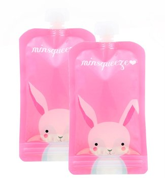 2-pack Minsqueeze Rabbit klämpåse 220 ml