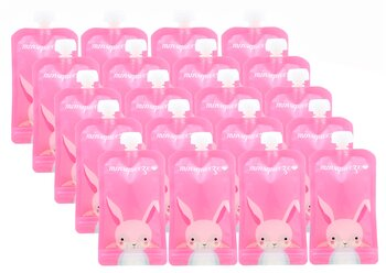 20-pack Minsqueeze Rabbit klämpåse 220 ml