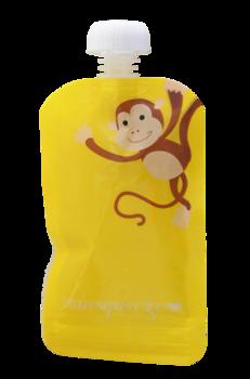 1-pack Minsqueeze Monkey klämpåse