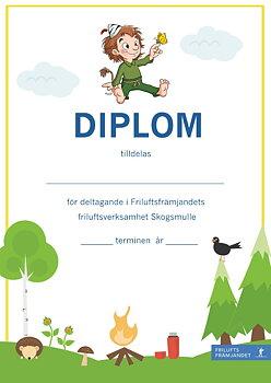 Diplom Skogsmulle Gul - 20-pack