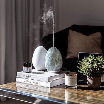 Aroma Diffuser / Luftfuktare | Grå och kan sakta växla mellan olika vackra färger