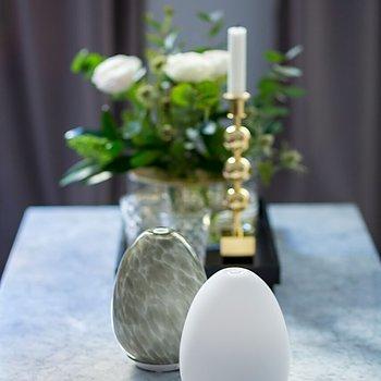 Aroma Diffuser / Luftfuktare| Vit och den kan sakta växla mellan olika vackra färger