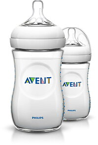 Philips Avent-Nappflaska Natural 260ml 2-pack