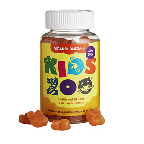 KidsZoo Vegansk Omega-3 60 tuggisar