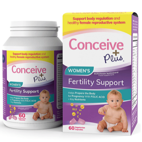 Conceive Plus Women's Fertility Support 60 kapslar - Sasmar