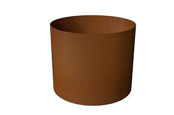 Boberg - planteringsrör corten 750