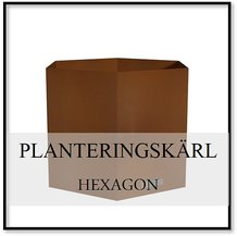 Planteringskärl Hexagon
