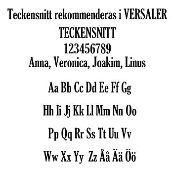 Keychain 3,5cm - Name & text