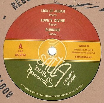 Pacey ‎– Lion Of Judah