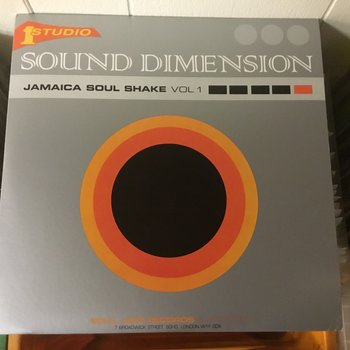 Sound Dimension ‎– Jamaica Soul Shake Vol 1