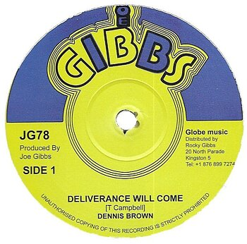 Dennis Brown ‎– Deliverance Will Come / Milk & Honey