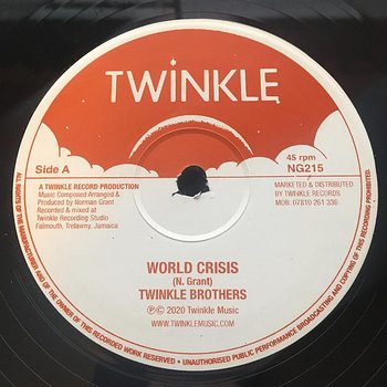 Twinkle Brothers ‎– World Crisis / Declaration Of Rights