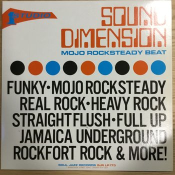 Sound Dimension ‎– Mojo Rocksteady Beat